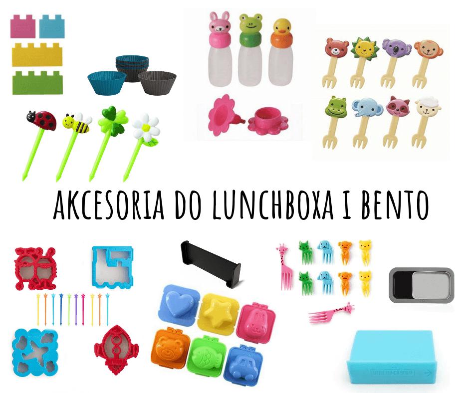 akcesoria do lunchboxa