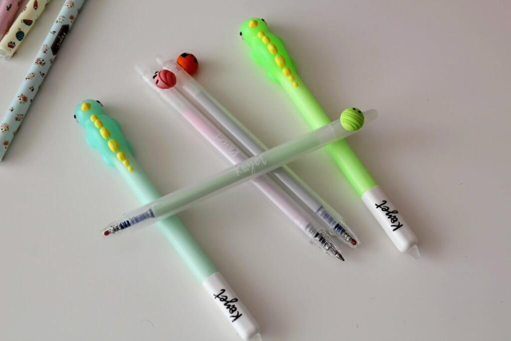 wyprawka do szkoły długopisy