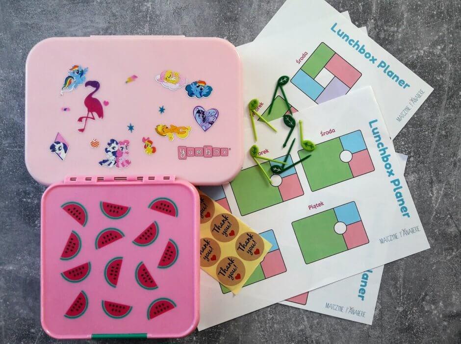 lunchboxy przepisy planer
