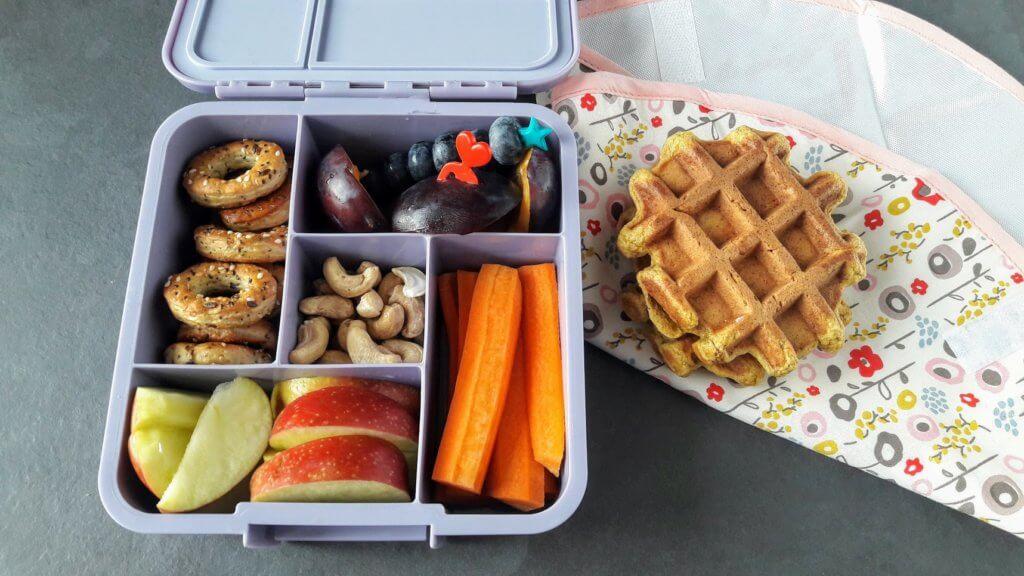 gofry dyniowe lunchbox do szkoły