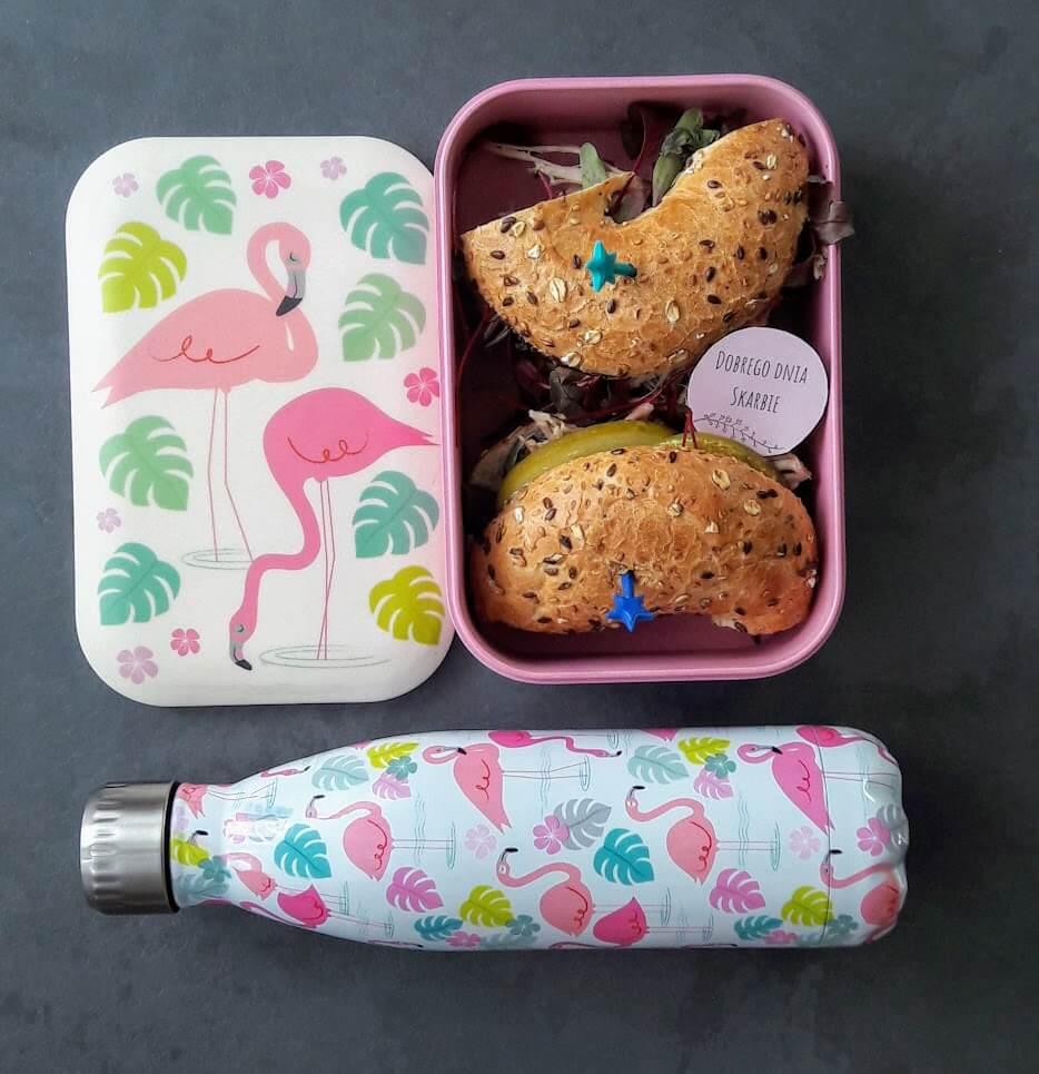 Lunchbox z pelikanami