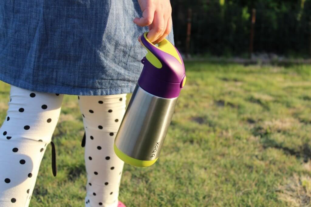 stalowa butelka dla dziecka