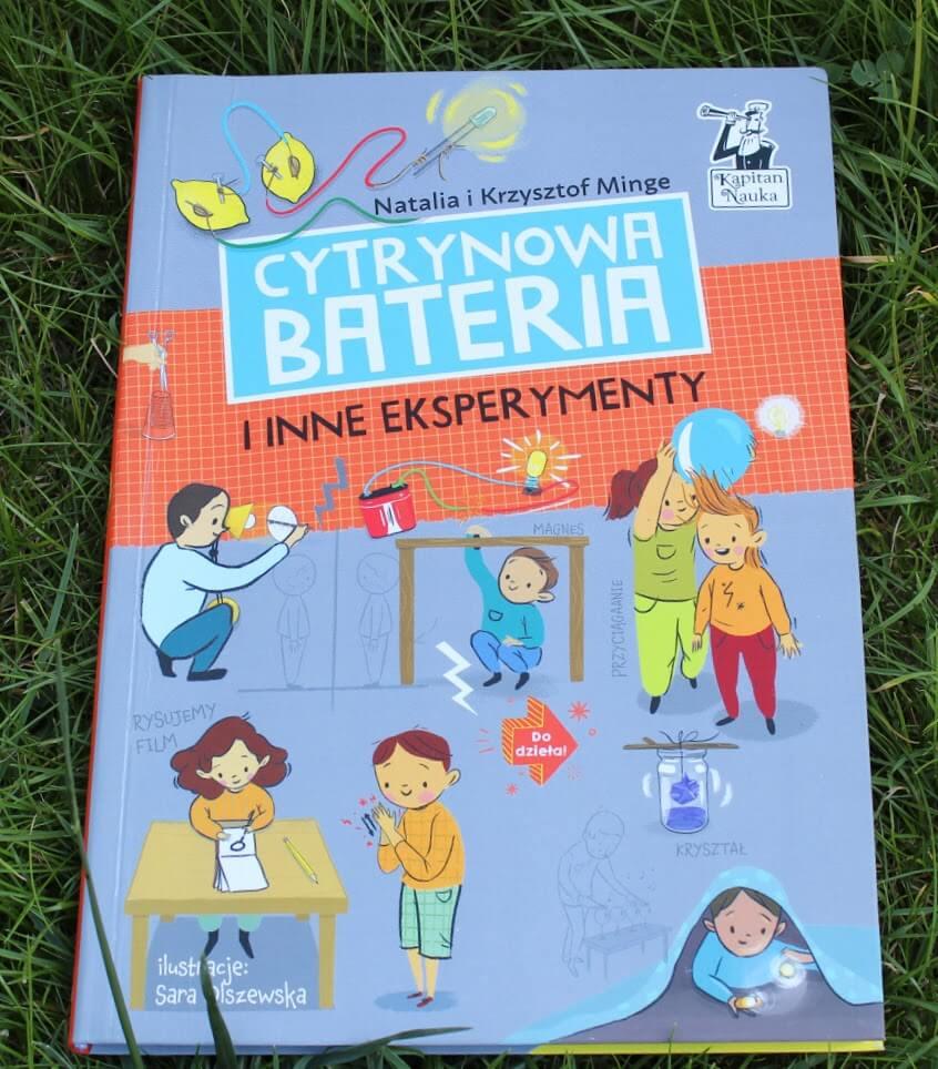 książka cytrynowa bateria i inne eksperymenty opinia