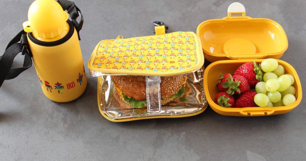 lunchbox do szkoły etui, pudełko, bidon