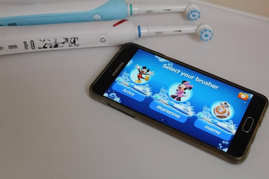 aplikacja do mycia zębów