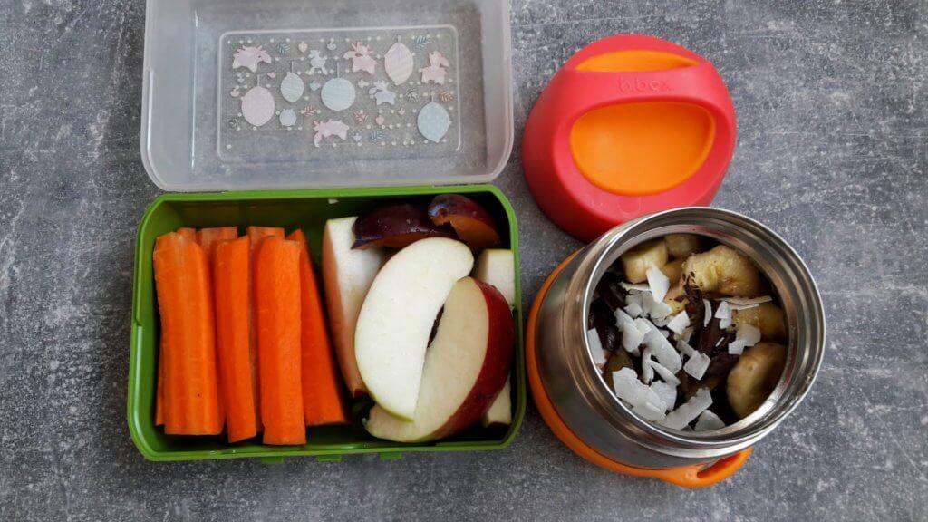 Jedzenie do szkoły dla dziecka
