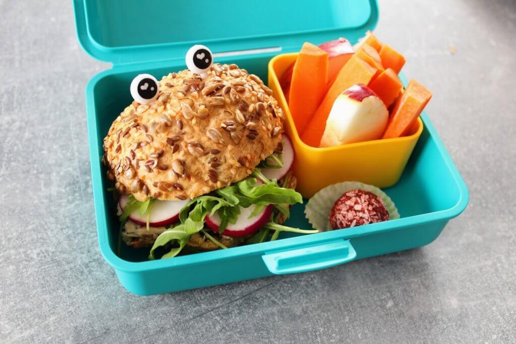 Lunchbox do szkoły bez glutenu śniadanie