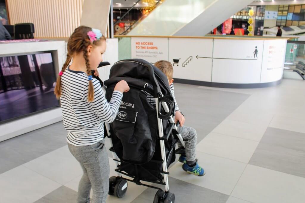 wypożyczalnia wózków w Galeria Młociny