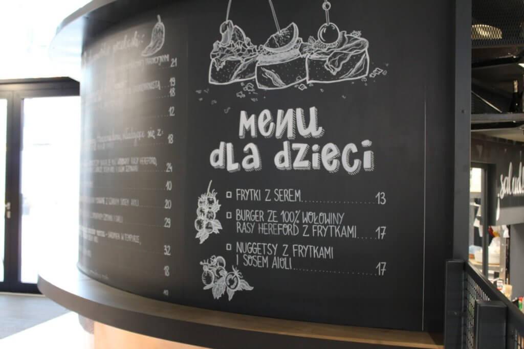 menu dla dzieci Galeria Młociny