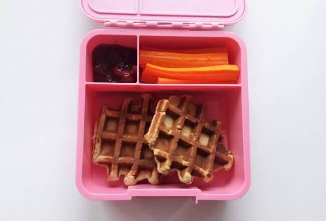 gofry kokosowe lunchbox dla dziecka do szkoły