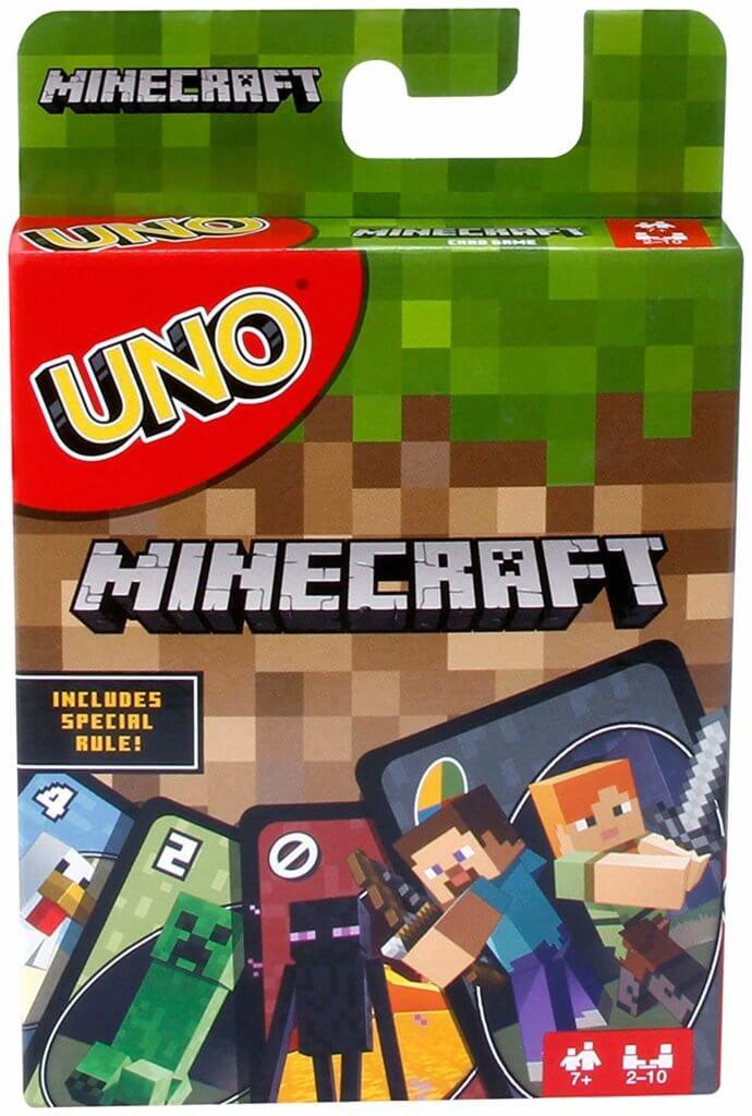 prezent  dla fanów Minecrafta UNO