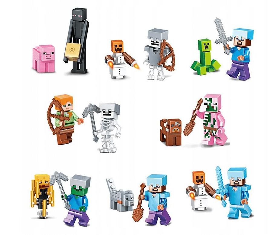klocki i figurki Minecraft