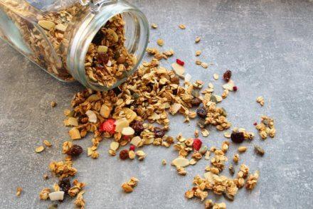 domowa granola bez cukru