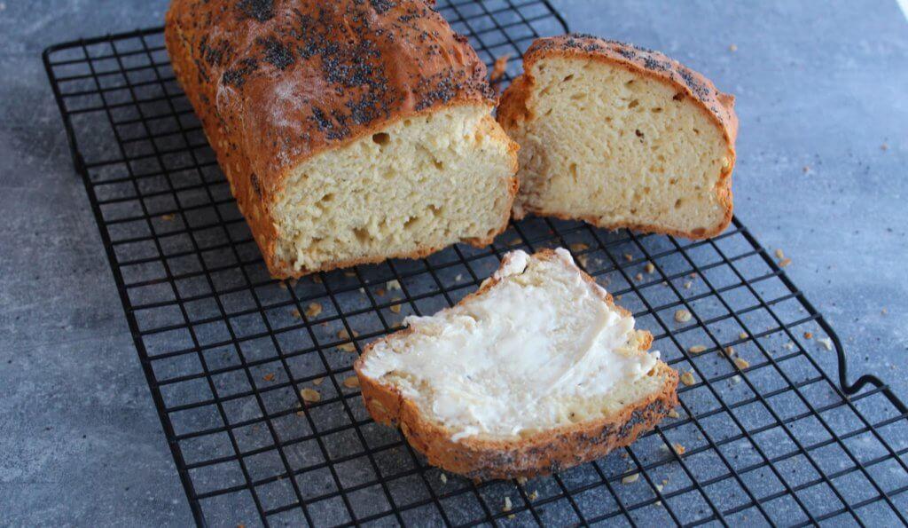 chleb domowy bez drożdży