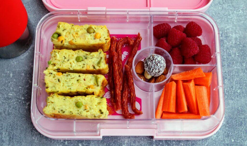 lunchbox z przegródkami