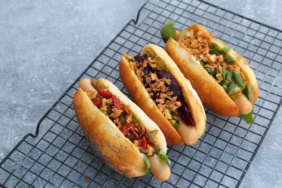 bulki do hot dogów