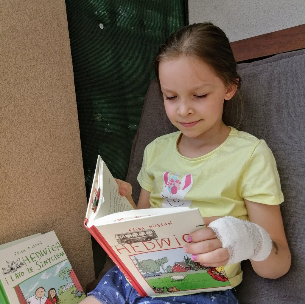 książki na wakacje Hedwiga