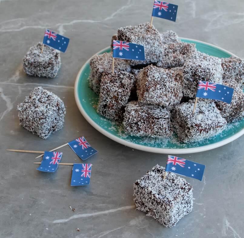 kostka kokosowa czyli australijskie lamingtony
