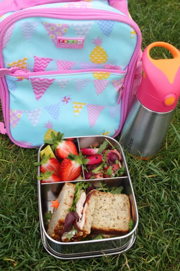 torba na lunch dla dziewczynki