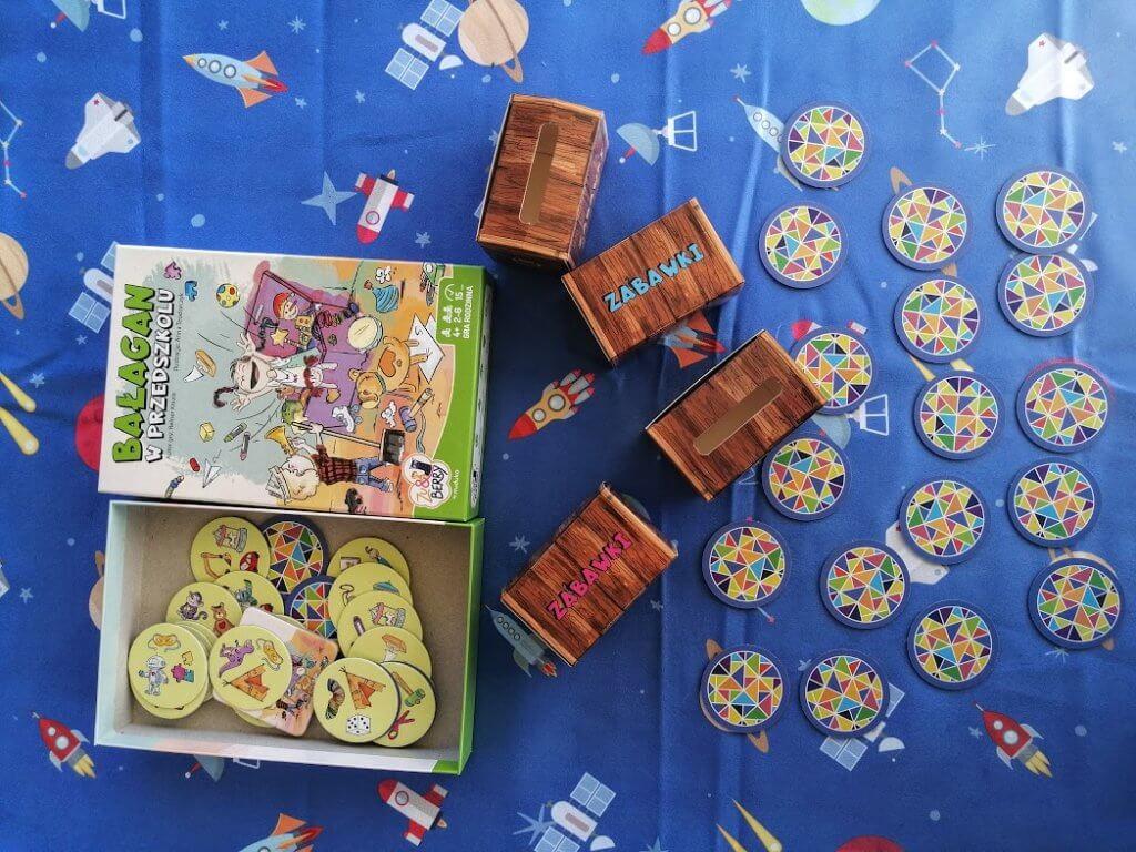 bałagan w przedszkolu gra planszowa dla 4 lat