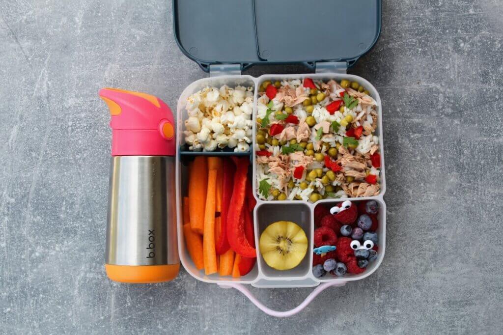 Bbox wielokomorowy lunchbox do szkoły