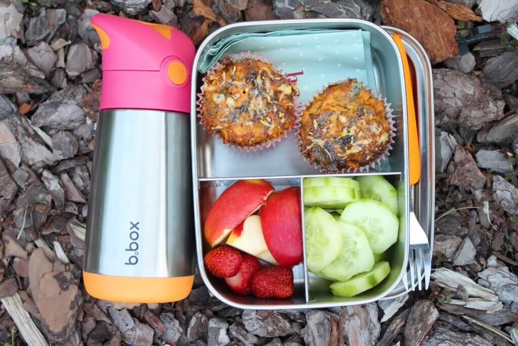 lunchbox i bidon stalowy do szkoły