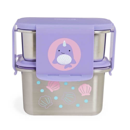 stalowy lunchbox skip hop