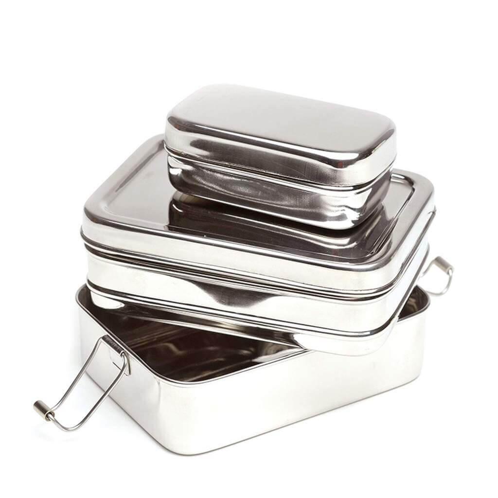 stalowy eco lunchbox