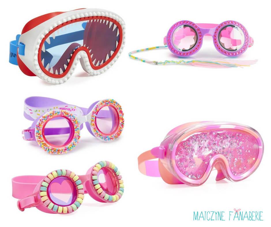 okulary i maska na basen do pływania i nurkowania
