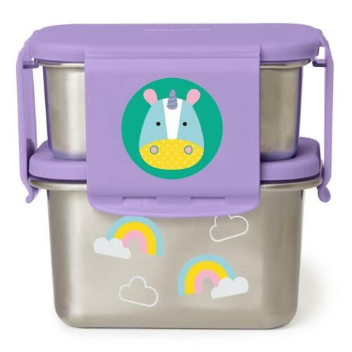 szczelny stalowy lunchbox skip hop