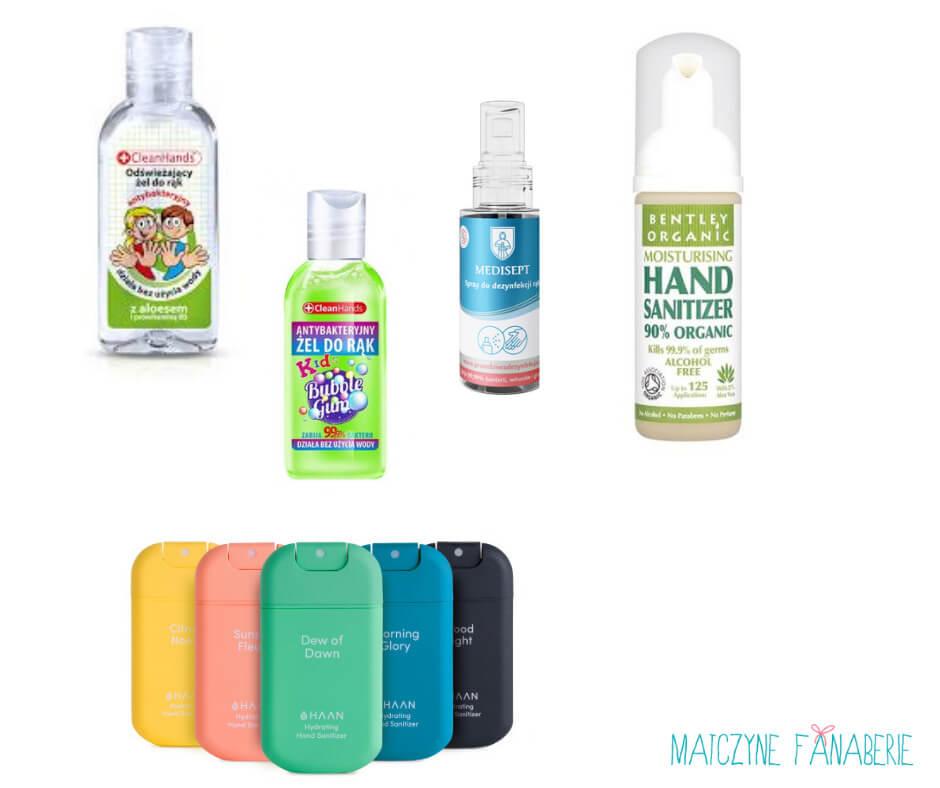 Wyprawka do szkoły - środki czystości