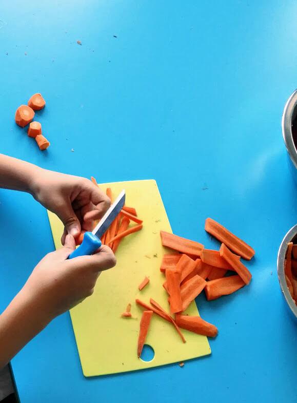 edukacja żywieniowo - kulinarna dla dzieci