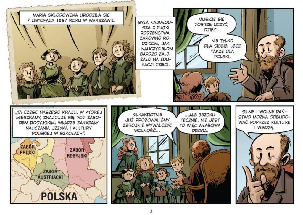 komiks najwybitniejsi naukowcy