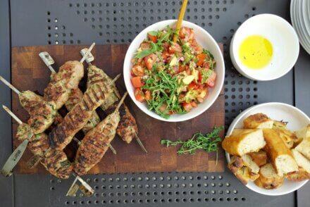 grill weber mięso z grilla